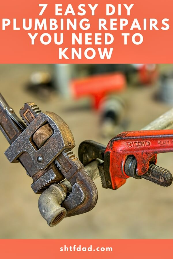 7 Easy DIY Plumbing Repairs You Need to Know - Knowing how to DIY plumbing repairs is an important component to being self-sufficient by saving you time & money which is better spent on your family.