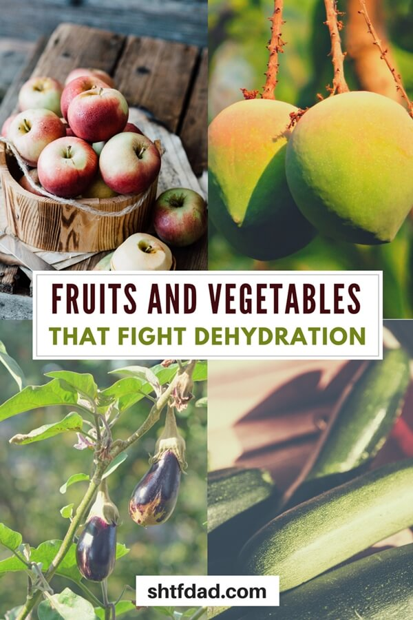 Fruits and Vegetables That Fight Dehydration