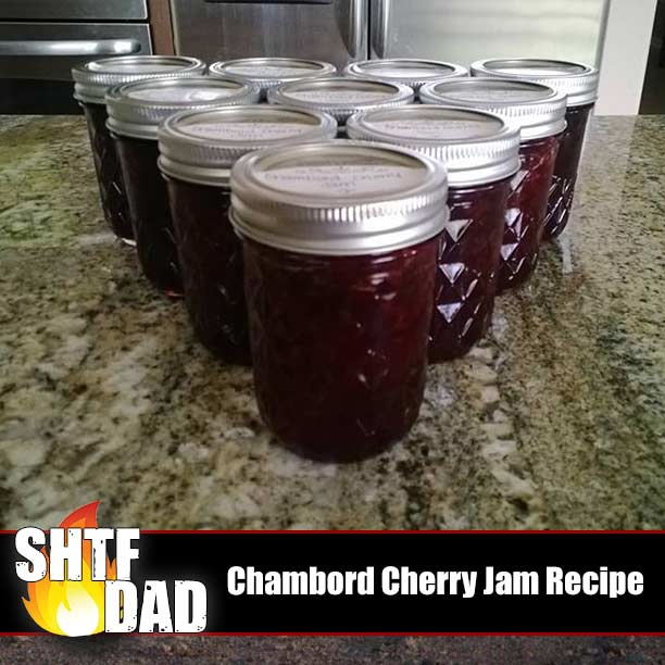 Chambord Cherry Jam Recipe