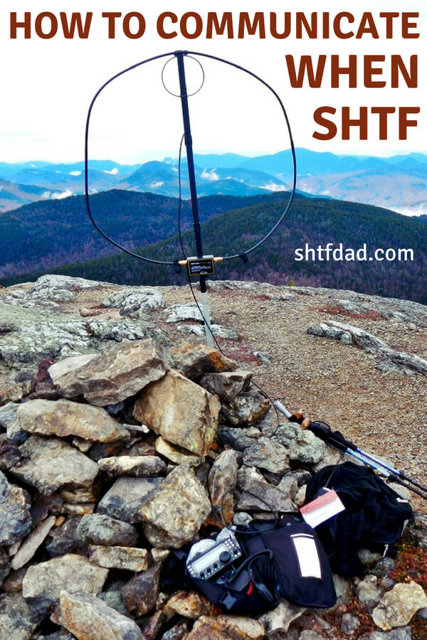 How To Communicate When SHTF - You will need to communicate when SHTF. When the apocalypse comes, you are going to need more than food, water, shelter and fire for long term survival.