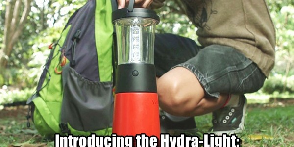 Introducing the Hydra-Light The Salt Water Powered Lantern & Charger!