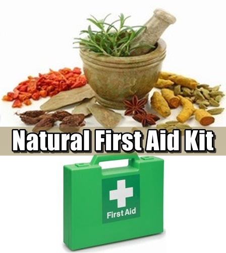 Natural First Aid Kit