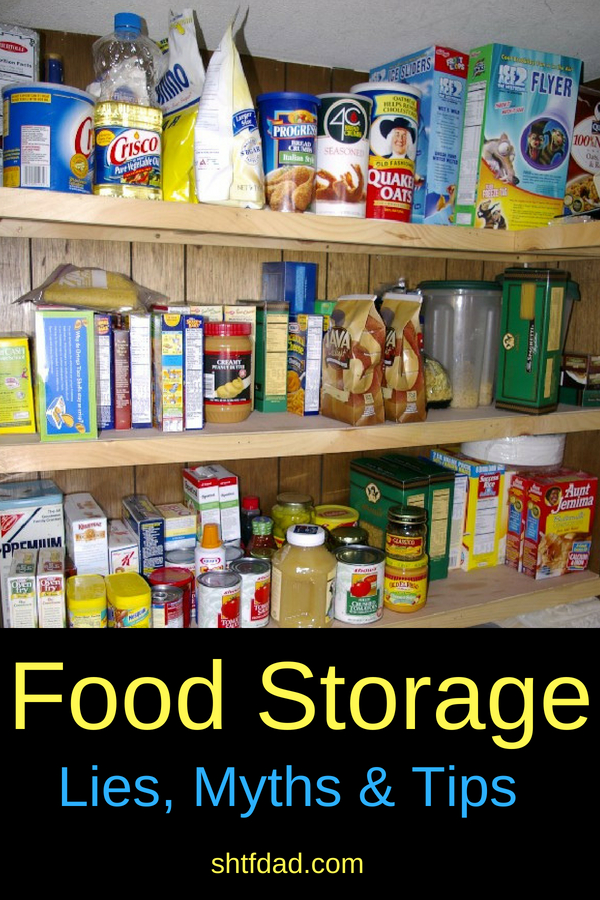 Looking for ways to store food long term for emergencies? These food storage tips will help put meals on the table in times of need. A mixture of dry and canned goods in sealed containers on shelves in your pantry will help you stay organized and stress free.