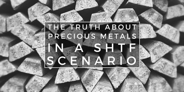 The Truth About Precious Metals in a SHTF Scenario - Precious metals have the ability to both protect my money (cash) by being a good combatant against inflation but also simultaneously be used for a barter/trade situation in those SHTF scenarios that we all plan for.