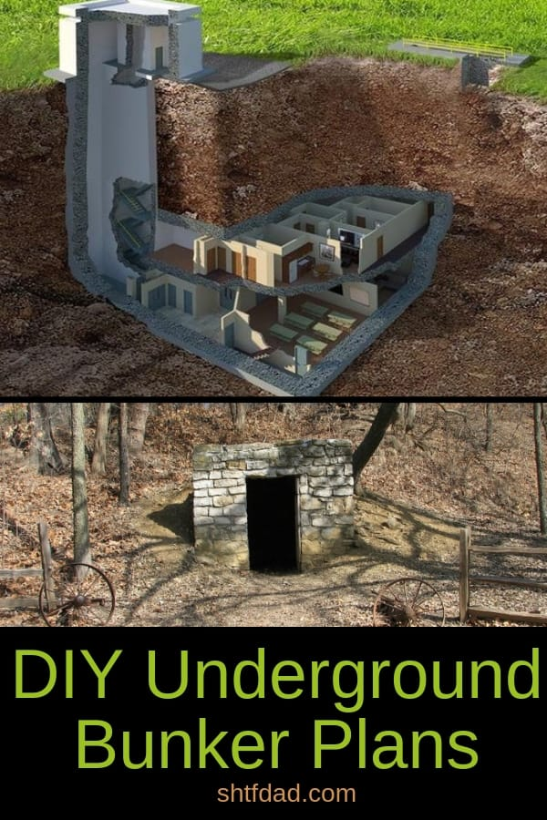 Is bugging out not a viable solution for your family? Then perhaps you should considerthese DIY underground bunker plansto help alleviate the cost.