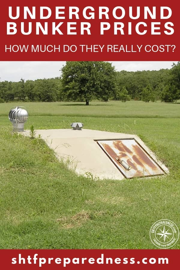 When getting ready to build an underground shelter, you need to figure out what it would cost before you get started. We'll look at both DIY and commercial options so you can prepare. Underground bunker prices could be high for many, and it;s best to plant ahead of time. #undergroundbunkerprice #bunker #undergroundbunker #undergroundshelter #shtf #shtfdad #preparedness