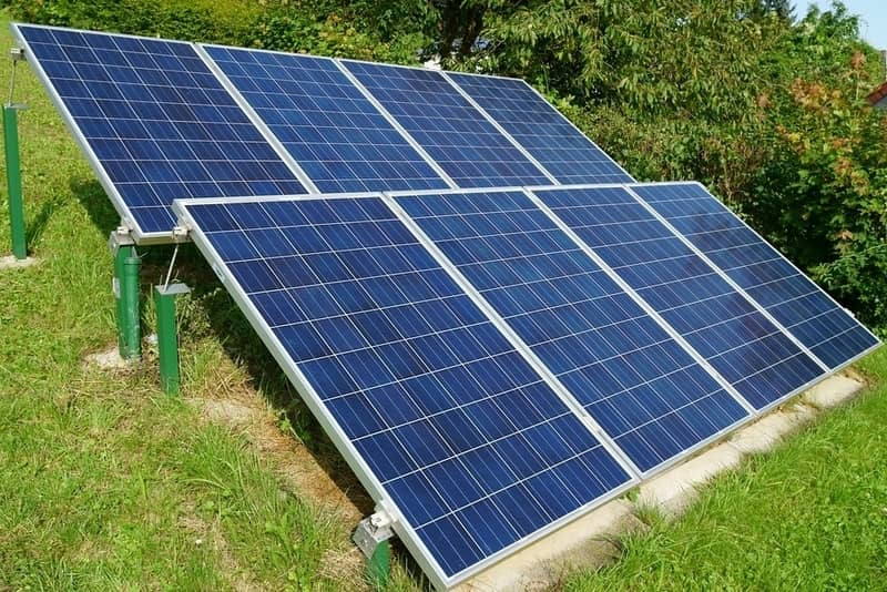 solar panels for your bunker supply list to generate power