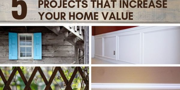 The increased value from your DIY home improvement projects will pay you back in dividends when you sell your home or property.