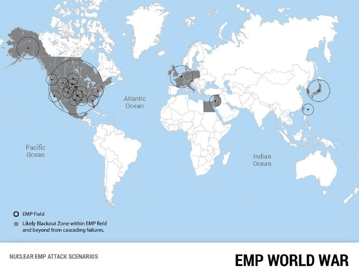 Threat of an EMP World War