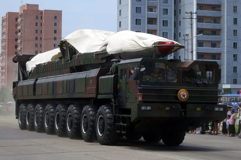 North Korean ballistic missile