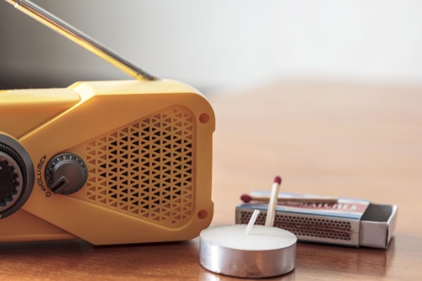 Hand crank weather radios are the 'must-have' item of emergency equipment for during, and after, natural disasters when the grid is down.
