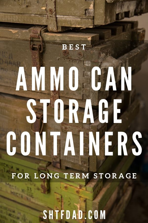 We reviewed the best ammo storage containers in 2019. Learn how to protect your munitions from heat, moisture, and corrosion long-term with this guide.