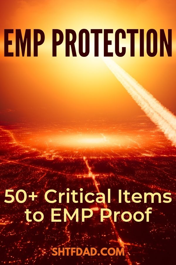 When humanity is suddenly thrust into the stone age by an EMP attack or a CME, shielding and protecting critical electronics in a Faraday cage will put you several steps ahead in the race for survival in the aftermath.