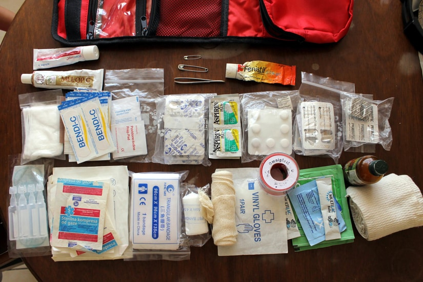 baby emergency first aid kit