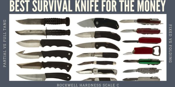 The best survival knife for the money offers strength, durability, versatility, and efficiency, as well as being affordable enough avoid breaking the bank.