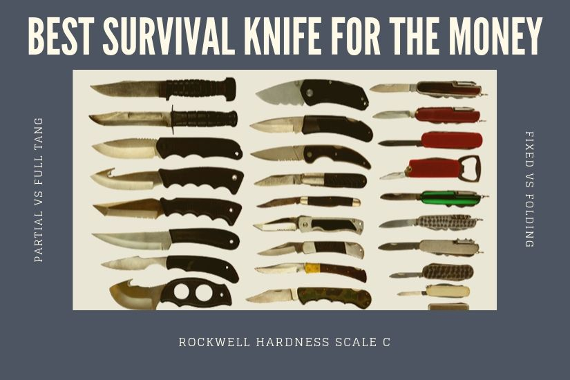 The best survival knife for the money offers strength, durability, versatility and efficiency, as well as being affordable enough to avoid breaking the bank