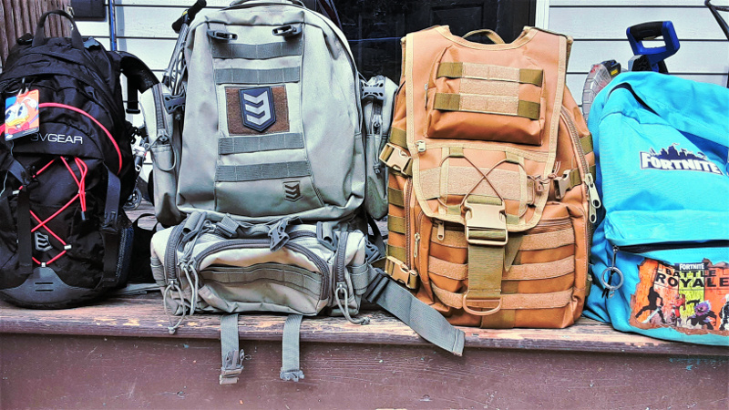 bug out bag choices for the family