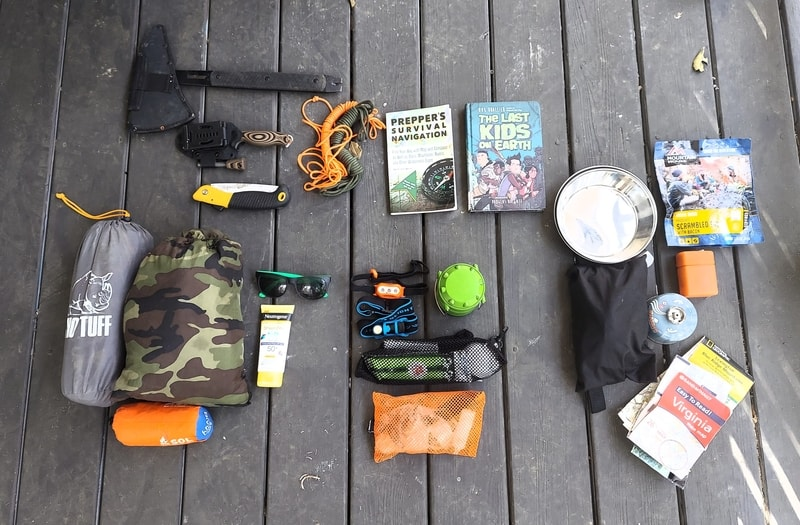 our family camping packing list