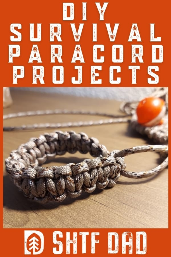 diy survival paracord projects pin 2